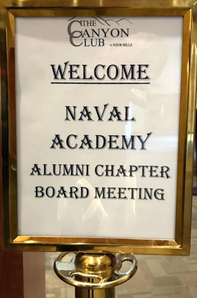 Chapter Meeting Sign